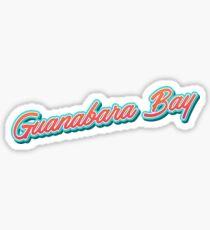 Guanabara Bay Typo BRZ Sticker