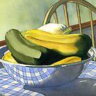 Summer Squash by Teresa Boston