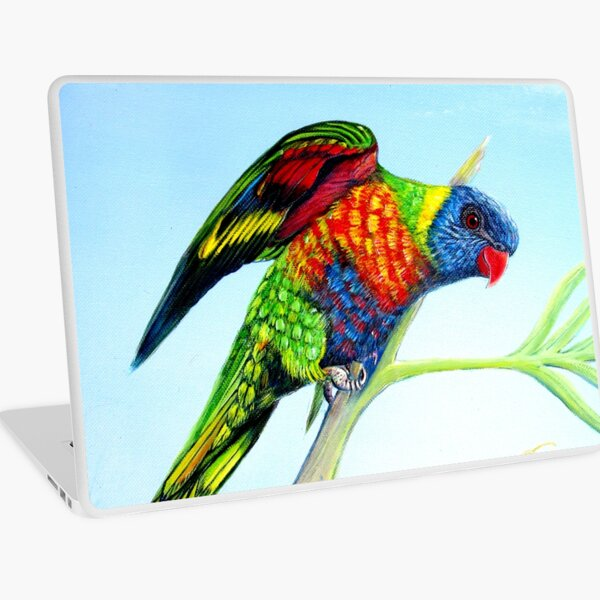 I can See a Rainbow Laptop Skin
