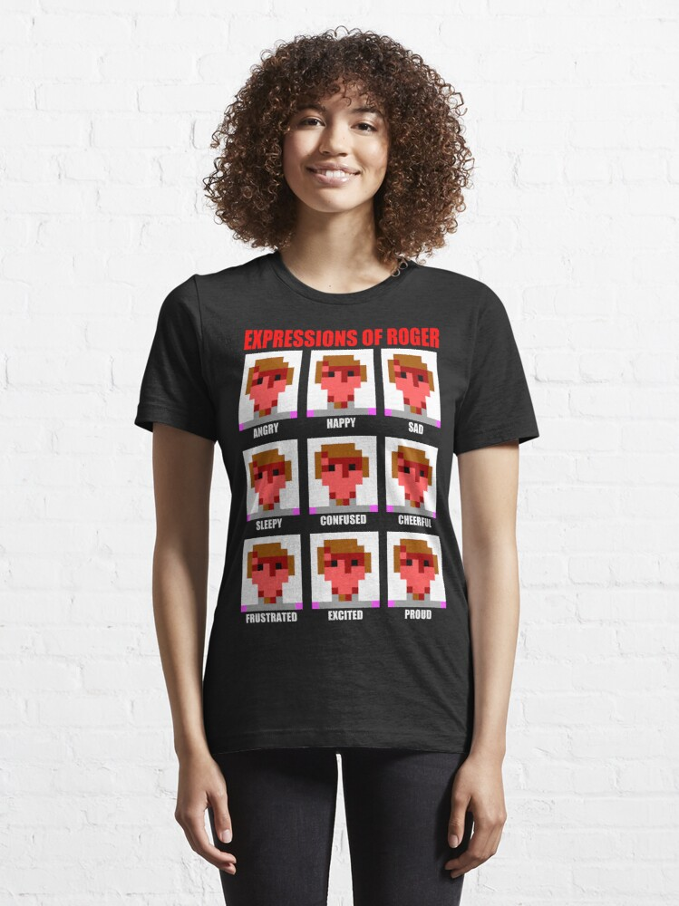 Alternate view of Expressions of Roger Essential T-Shirt