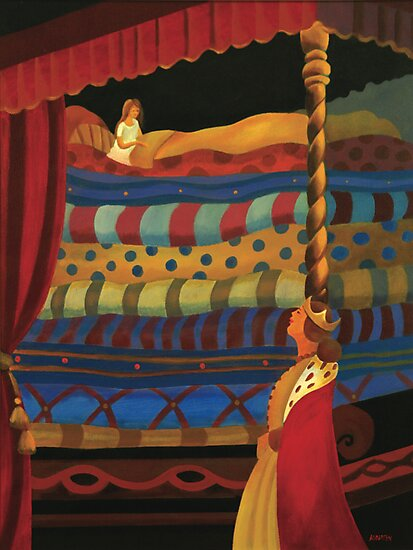 THE PRINCESS AND THE PEA by Thomas Andersen