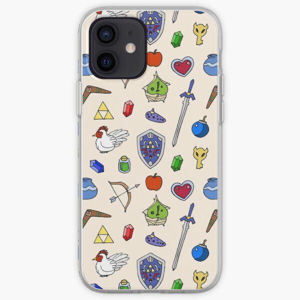 Zelda pattern iPhone Soft Case