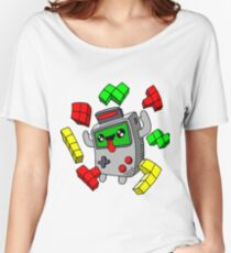 Tetris Game Boy retro game Women's Relaxed Fit T-Shirt