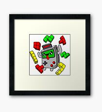 Tetris Game Boy retro game Framed Print