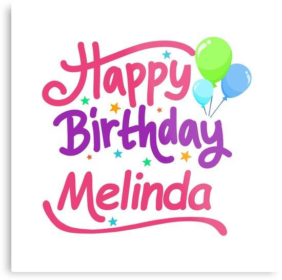 happy birthday melinda Happy Birthday Melinda