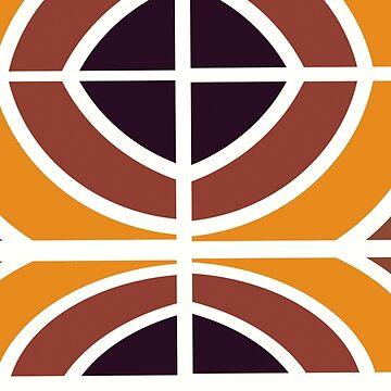 Stylish modern geometric mid center by soycarola