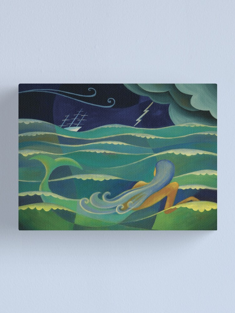 Alternate view of THE LITTLE MERMAID Canvas Print