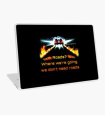 Back to the future Laptop Skin