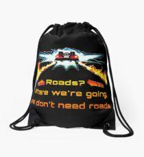 Back to the future Drawstring Bag