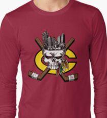 Go Chicago Skyline Long Sleeve T-Shirt