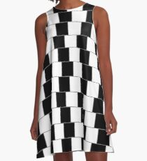 Parallel Lines A-Line Dress