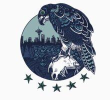 Seattle Seahawks Skyline | Unisex T-Shirt
