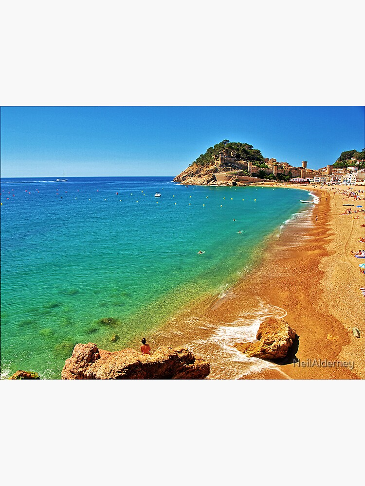 Tossa Beach - Tossa de Mar, Spain by NeilAlderney