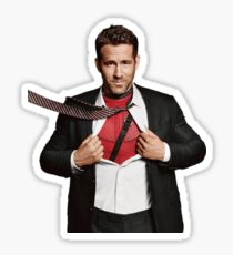 Ryan Reynolds Sticker