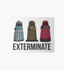 Daleks through the Years Art Board