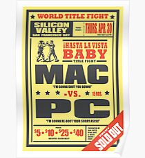 Mac vs. PC Poster