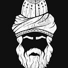 Rumi - Graphic Silhouette Head by MunirZamir