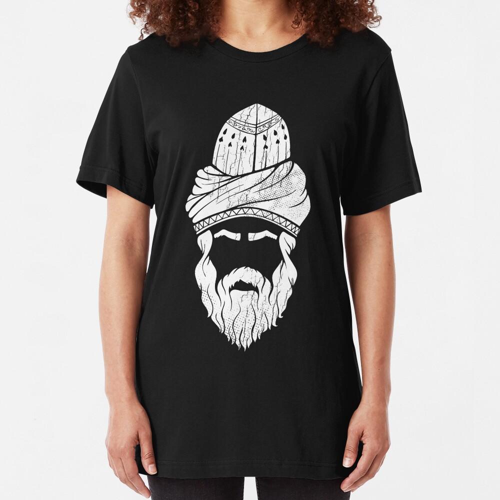 Rumi - Graphic Silhouette Head Slim Fit T-Shirt