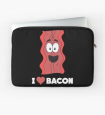 Funny Bacon Lover Apparel Gift Laptop Sleeve