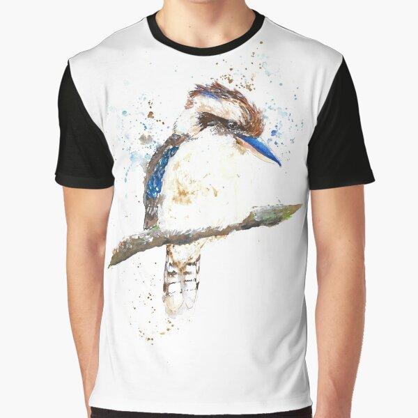 Watercolour Kookaburra Graphic T-Shirt