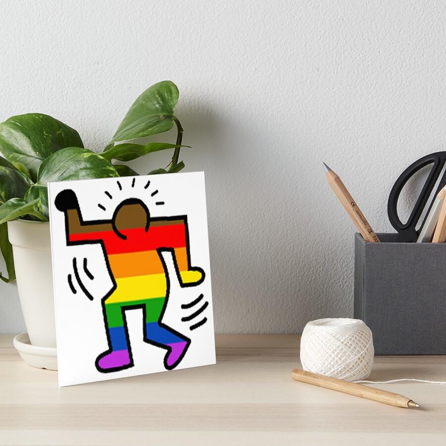 Keith Haring Homosexuell Galeriedruck