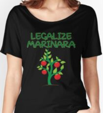 "Legalize Marinara Funny Double Entendre T-Shirt Gift: ""Legalize Marinara"" 