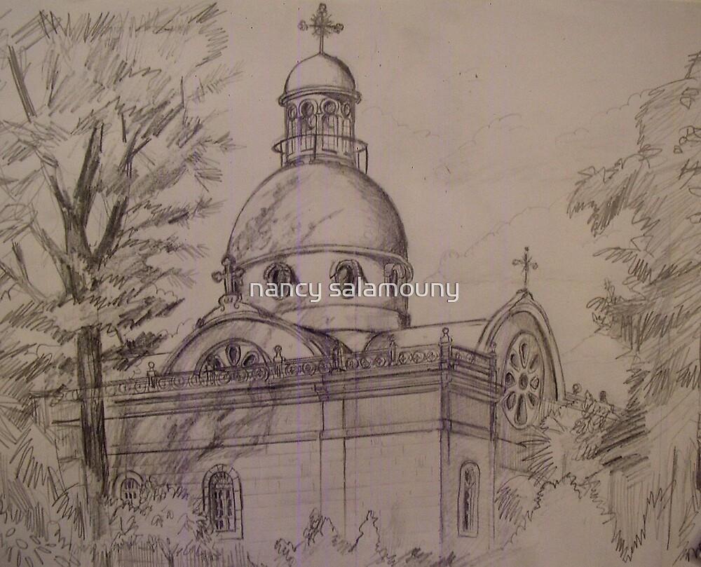 Bechara Church Beirut  by nancy salamouny