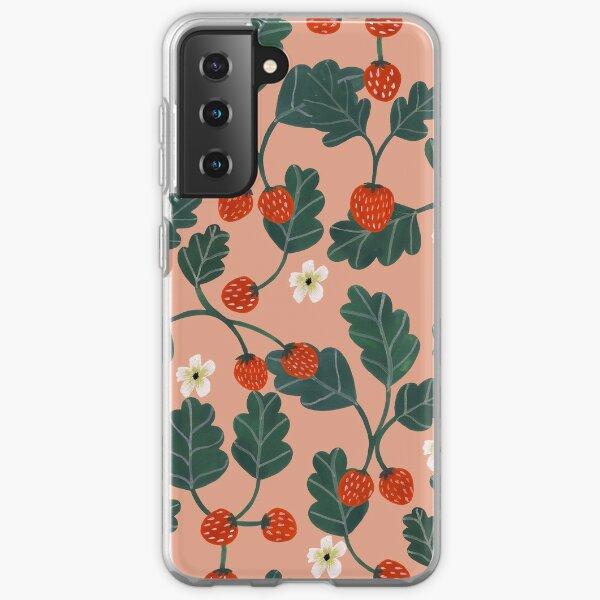 Strawberries Samsung Galaxy Soft Case
