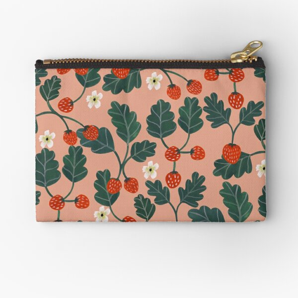 Strawberries Zipper Pouch