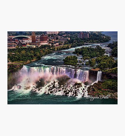The Falls Photographic Print