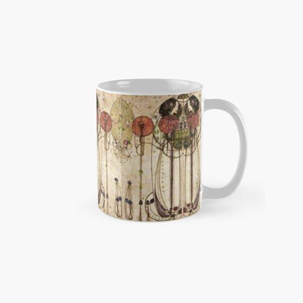 Charles Rennie Mackintosh, The Wassail 1900  (Detail, Crop). Classic Mug