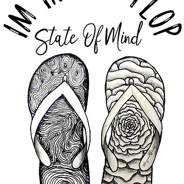 I'm in flip flop state of mind summer design by zuzanaperner