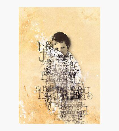 Little Boy Lost Photographic Print