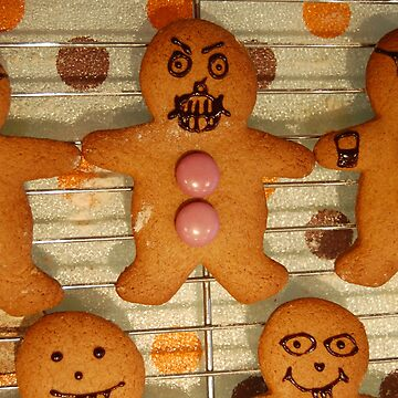 Silence of the Gingerbread People by MrJintro