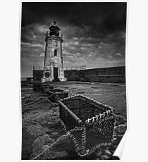 Lybster Lighthouse, Caithness, Scotland Poster