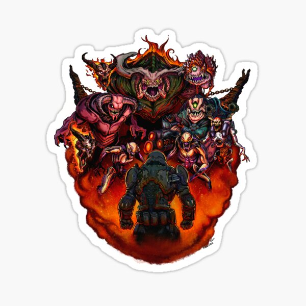 Fight like Hell 2 T-Shirt Sticker