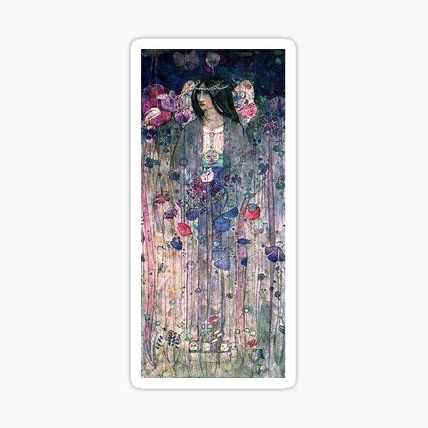 Charles Rennie Mackintosh, In Fairyland. 1897. Sticker