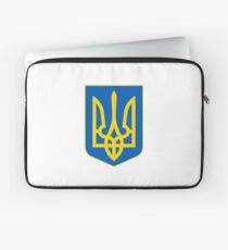 Coat of Arms of Ukraine Laptop Sleeve