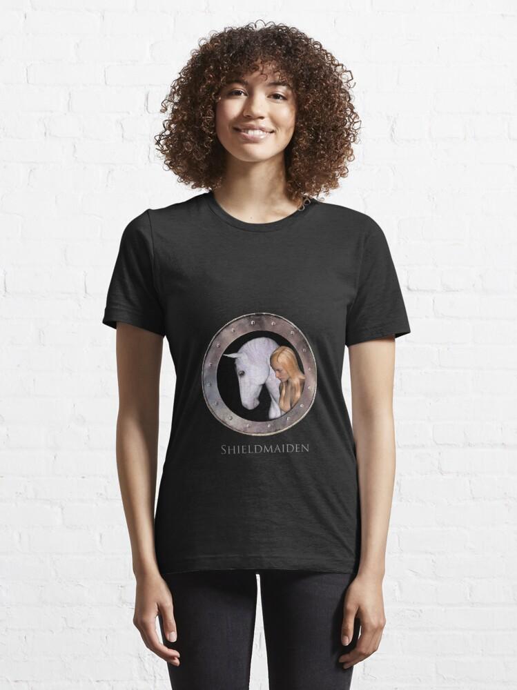 Alternate view of Shieldmaiden Essential T-Shirt