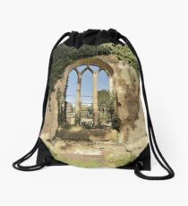 The Arched Window Drawstring Bag