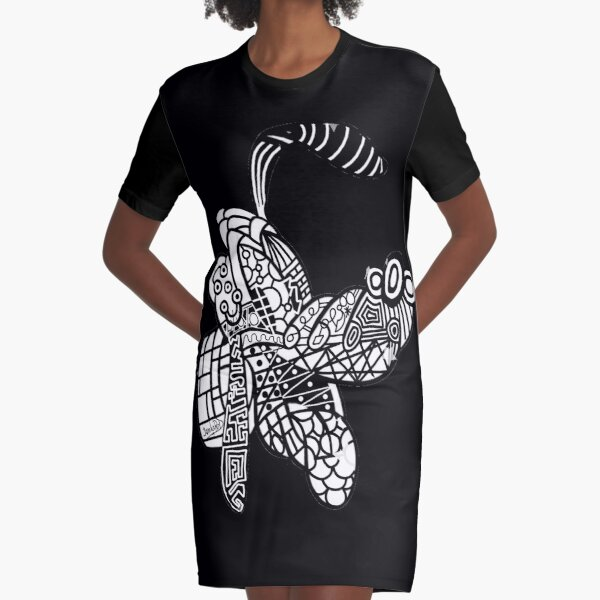 Roll Over Pluto by jamkaReD Graphic T-Shirt Dress