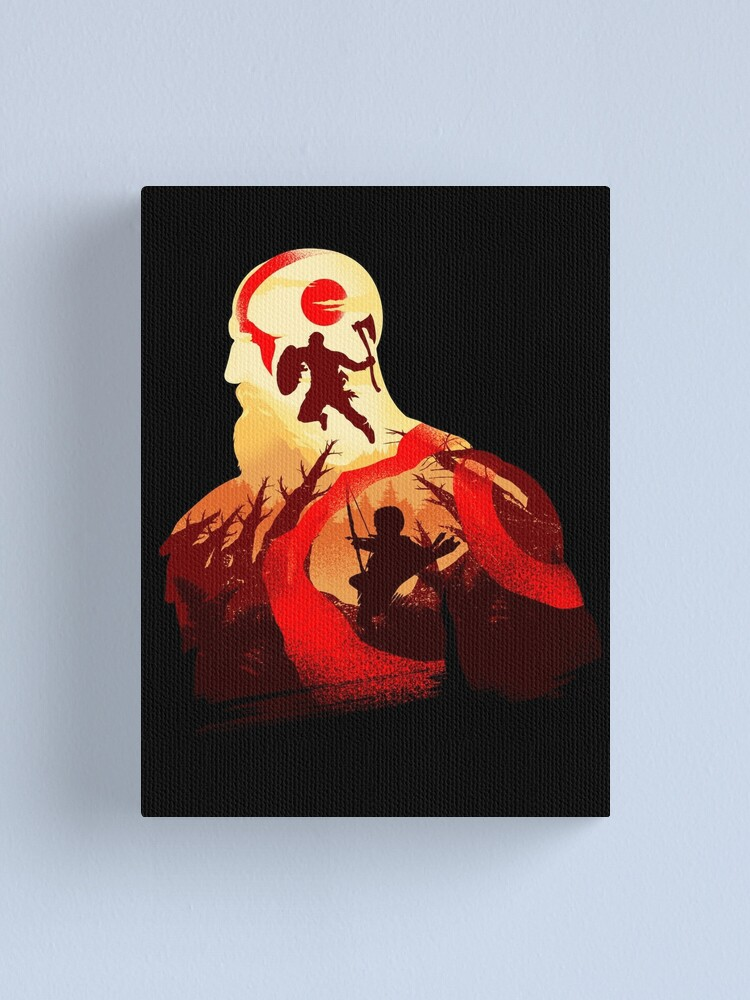 Alternate view of Father and Son Adventure Canvas Print
