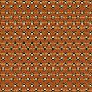 Bumblebee Pattern in Orange by ArtOfSkuba