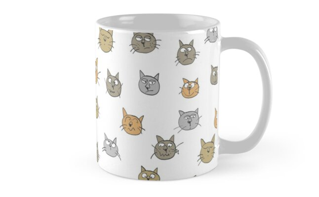 Cat collection by Sandy Mitchell