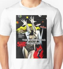 SHE THE AUSTOUNDING MONSTER Unisex T-Shirt