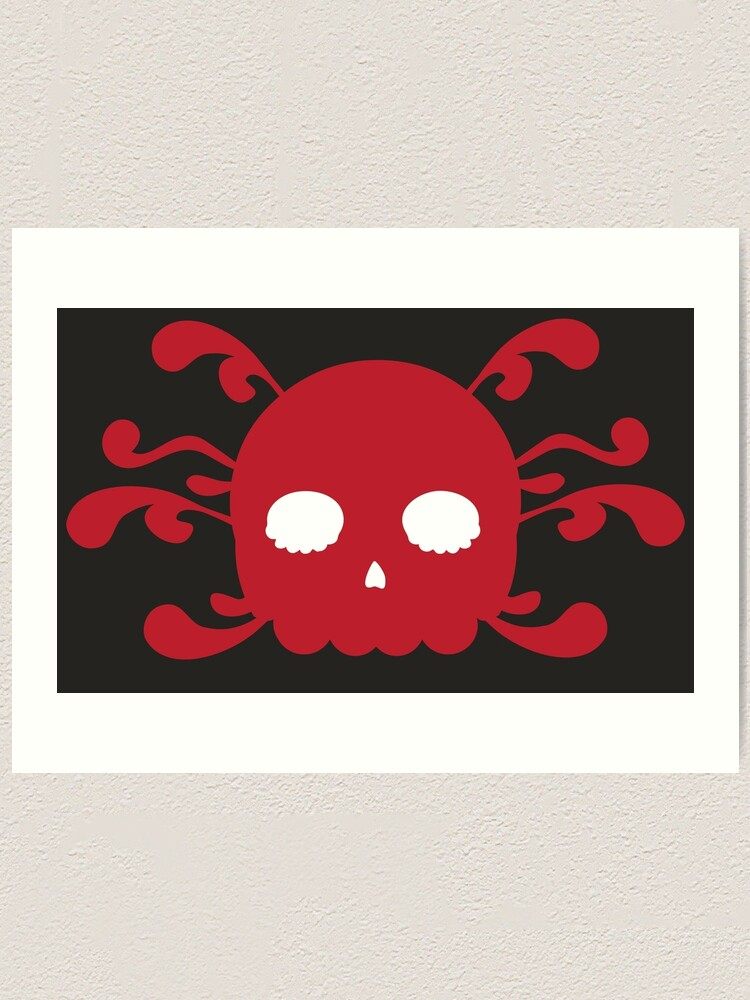 Alternate view of Avoid Peril Skull Art Print