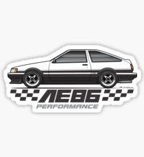 Multi-Color Body Option Apparel AE86 Sticker