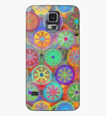 Cogflower Time Pattern by Lierre Kandel Case/Skin for Samsung Galaxy
