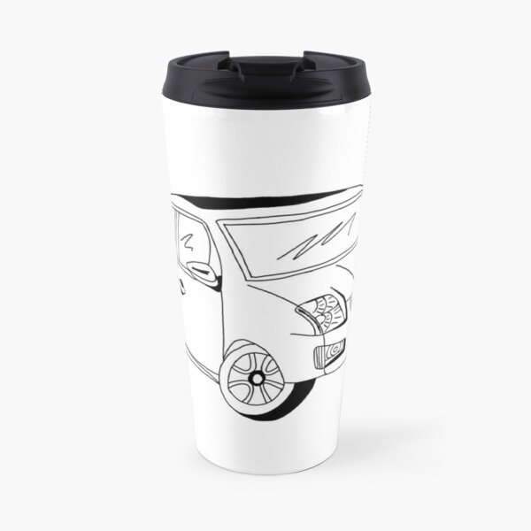 My Friends' Cars - Sentra Travel Mug