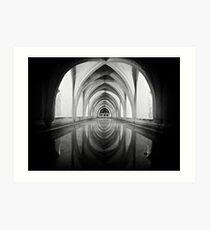 Cellar reflections Art Print
